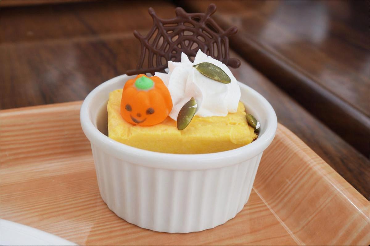 なめらか食感のかぼちゃのムース