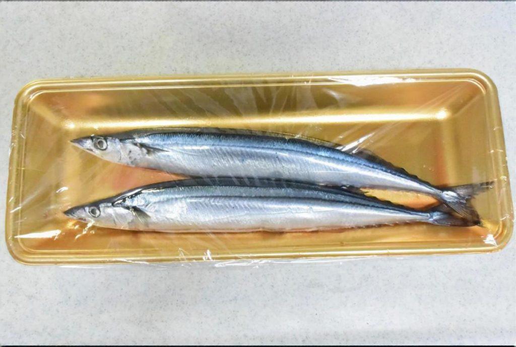 秋刀魚のから揚げ