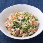【きょうの料理】干し柿と春菊の白あえの作り方を紹介!横山タカ子さんのレシピ
