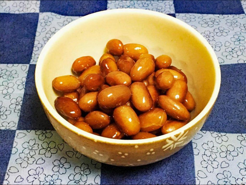 落花生の煮豆