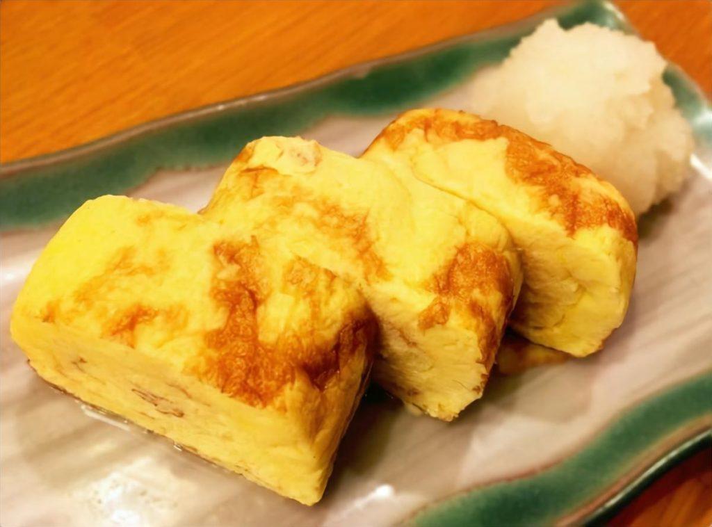 ゆで里芋の卵焼き