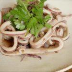 【おしゃべりクッキング】いかと香菜の炒めものの作り方を紹介!石川智之さんのレシピ