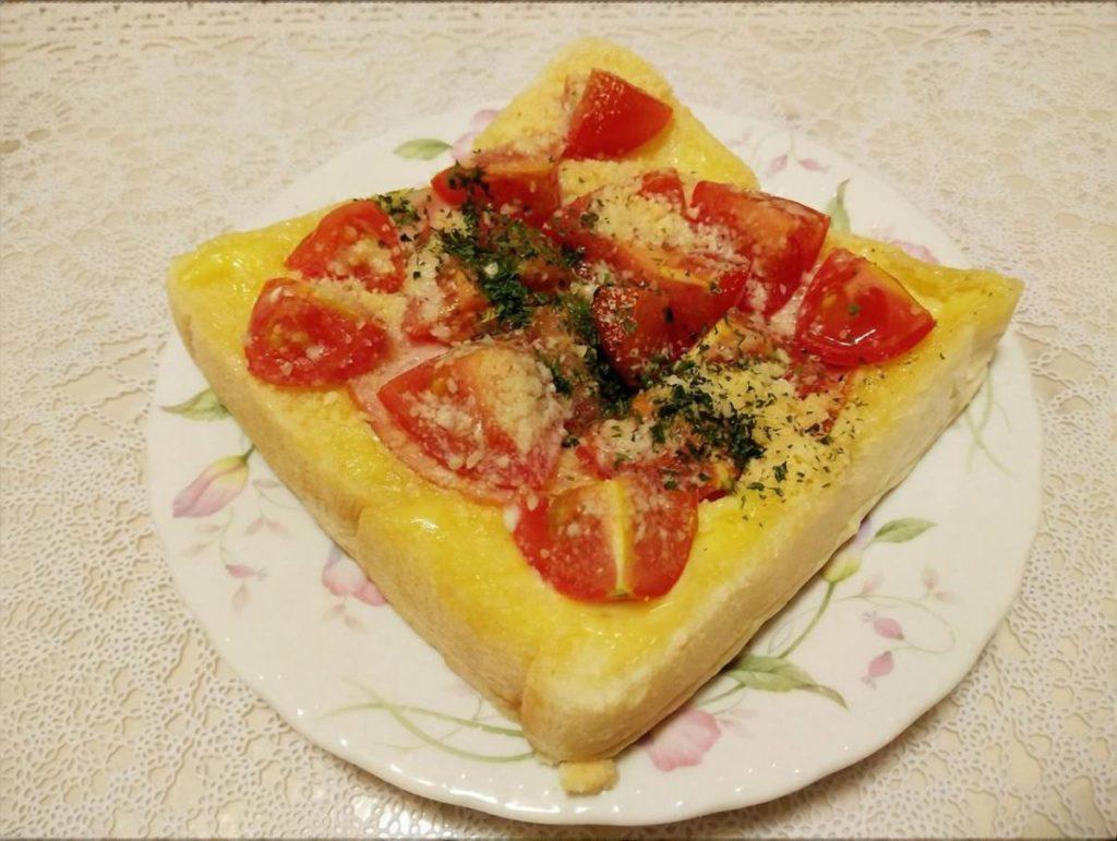 味噌トマトトースト