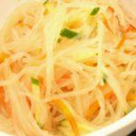 【きょうの料理】栗原はるみさんのレシピ!揚げ春雨のサラダの作り方を紹介!