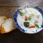【世界一受けたい授業】ホットプレートレシピ!若鶏と冬野菜のフリカッセの作り方を紹介!