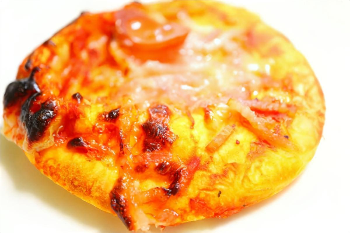 自然薯のおつまみピザ