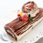 【ZIP】ブッシュドノエルの作り方を紹介!鎧塚俊彦シェフのクリスマスケーキレシピ