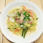 【ソレダメ】リュウジさんのレシピ!サッポロ一番塩ラーメンでカルボナーラ風の作り方を紹介!