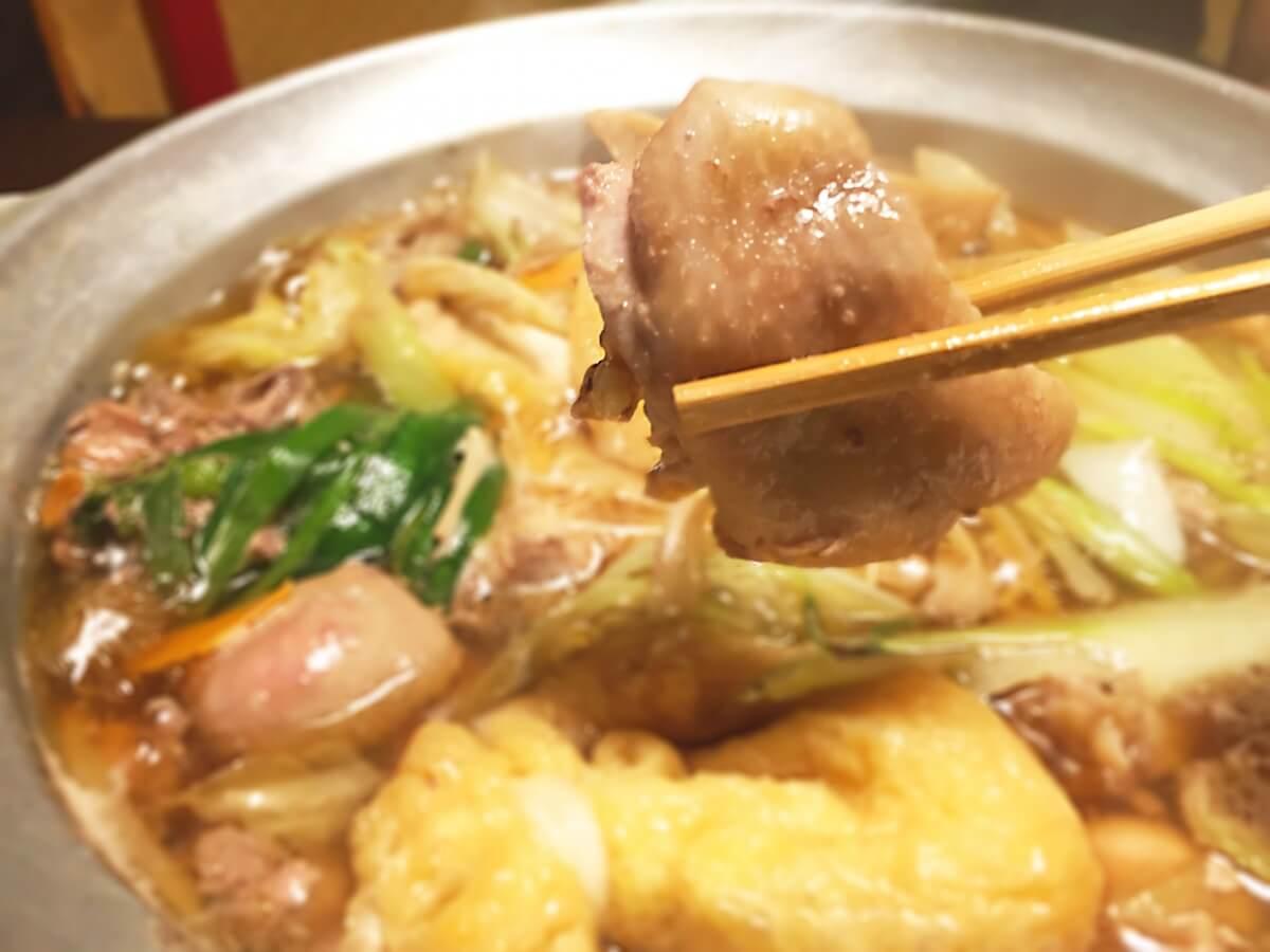 鶏と野菜のかにかま鍋