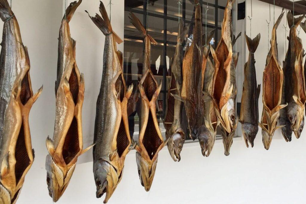 焼き鮭の飯ずし風