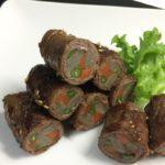 【3分クッキング】ローストビーフの奉書巻きの作り方を紹介!藤野嘉子さんのレシピ