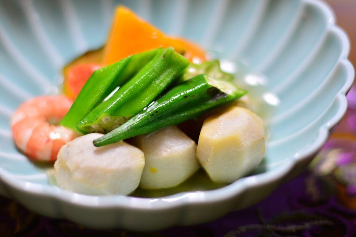 えびと長芋の含め煮