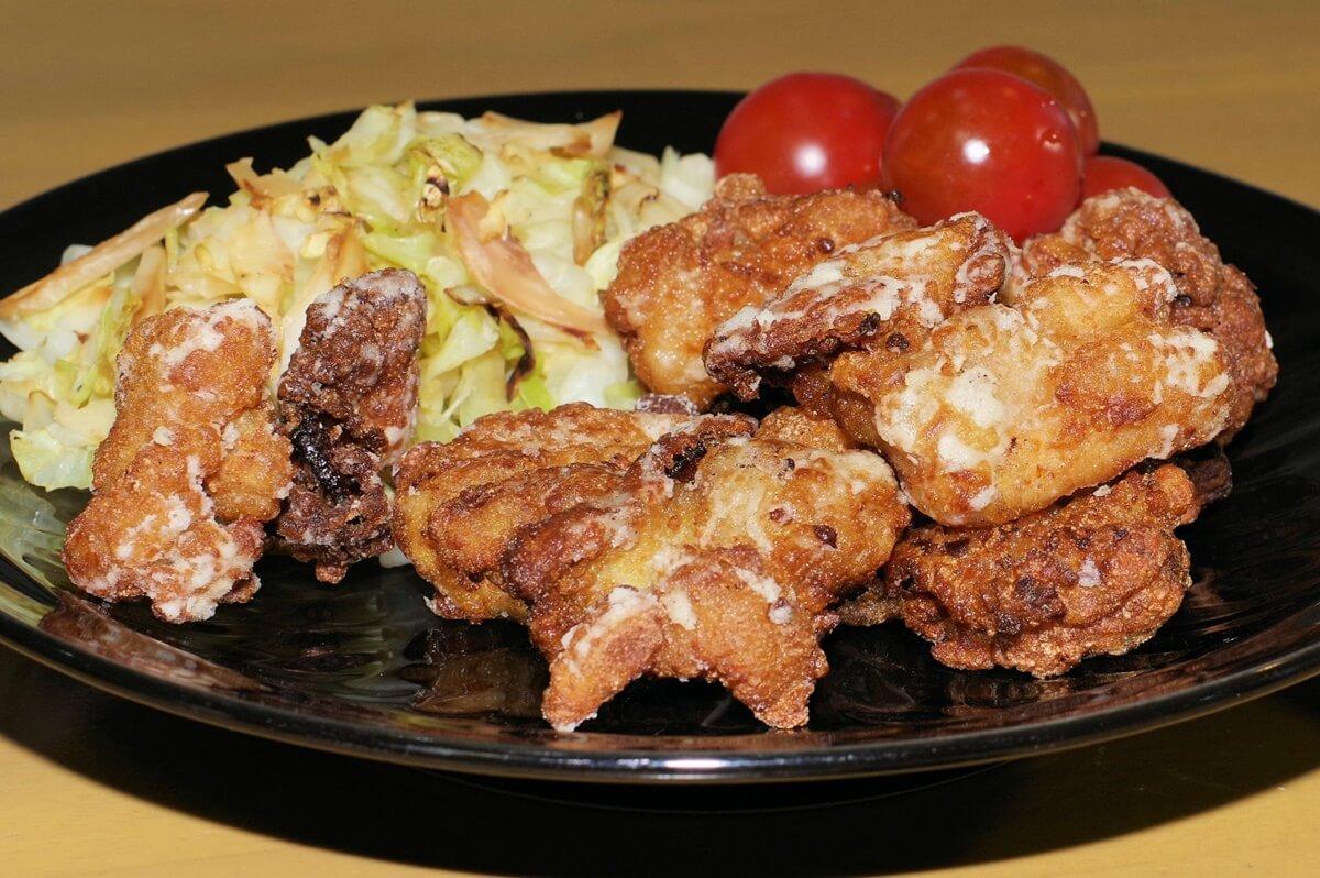 鶏肉のオイルしょうゆ焼き