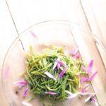 【よ~いドン】大阪府貝塚市春菊産ごちレシピ春菊のジェノベーゼ風パスタの作り方を紹介!