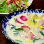 【きょうの料理】かぶの醍醐シチューの作り方を紹介!柳原尚之さんのレシピ