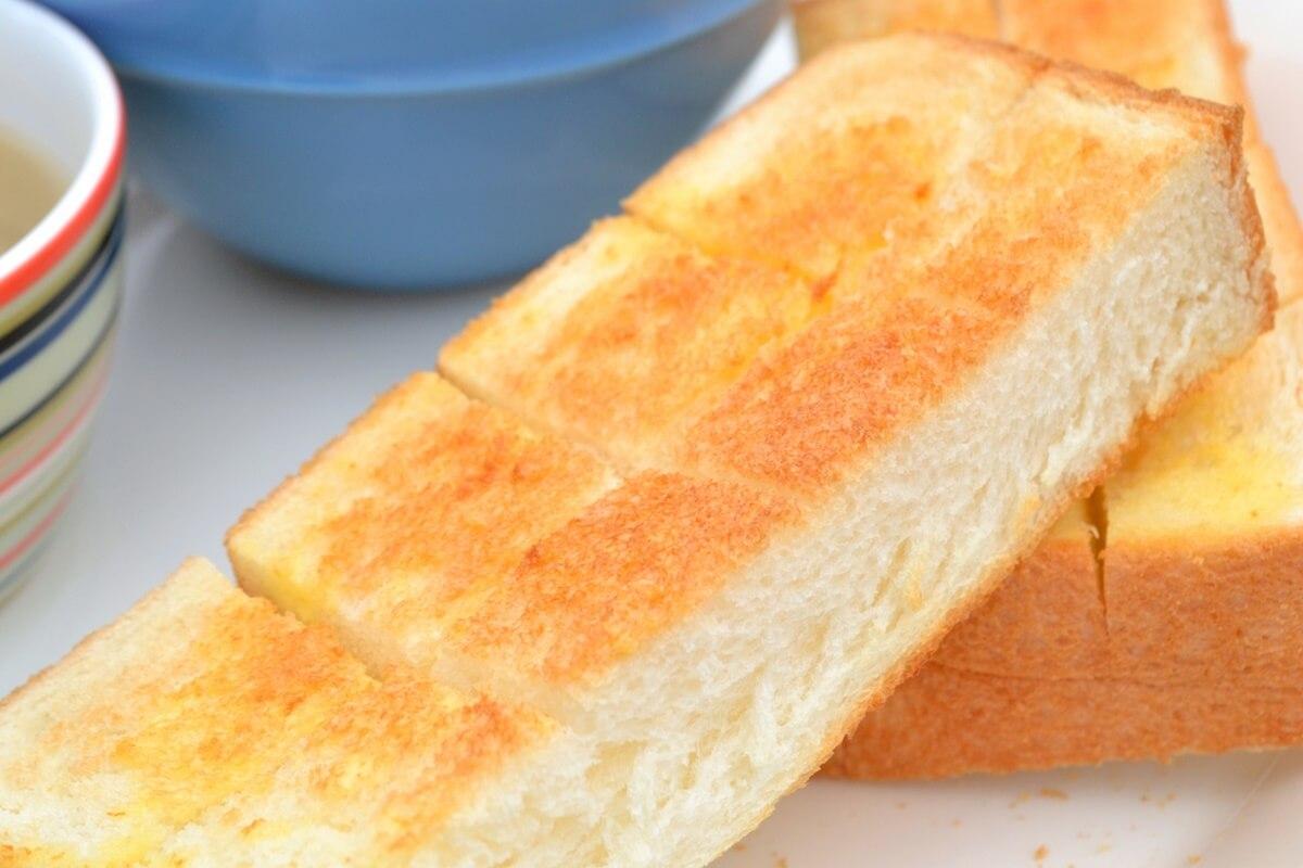 黄金比トースト
