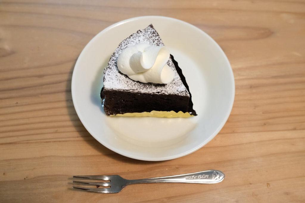 シトラスチョコレートケーキ