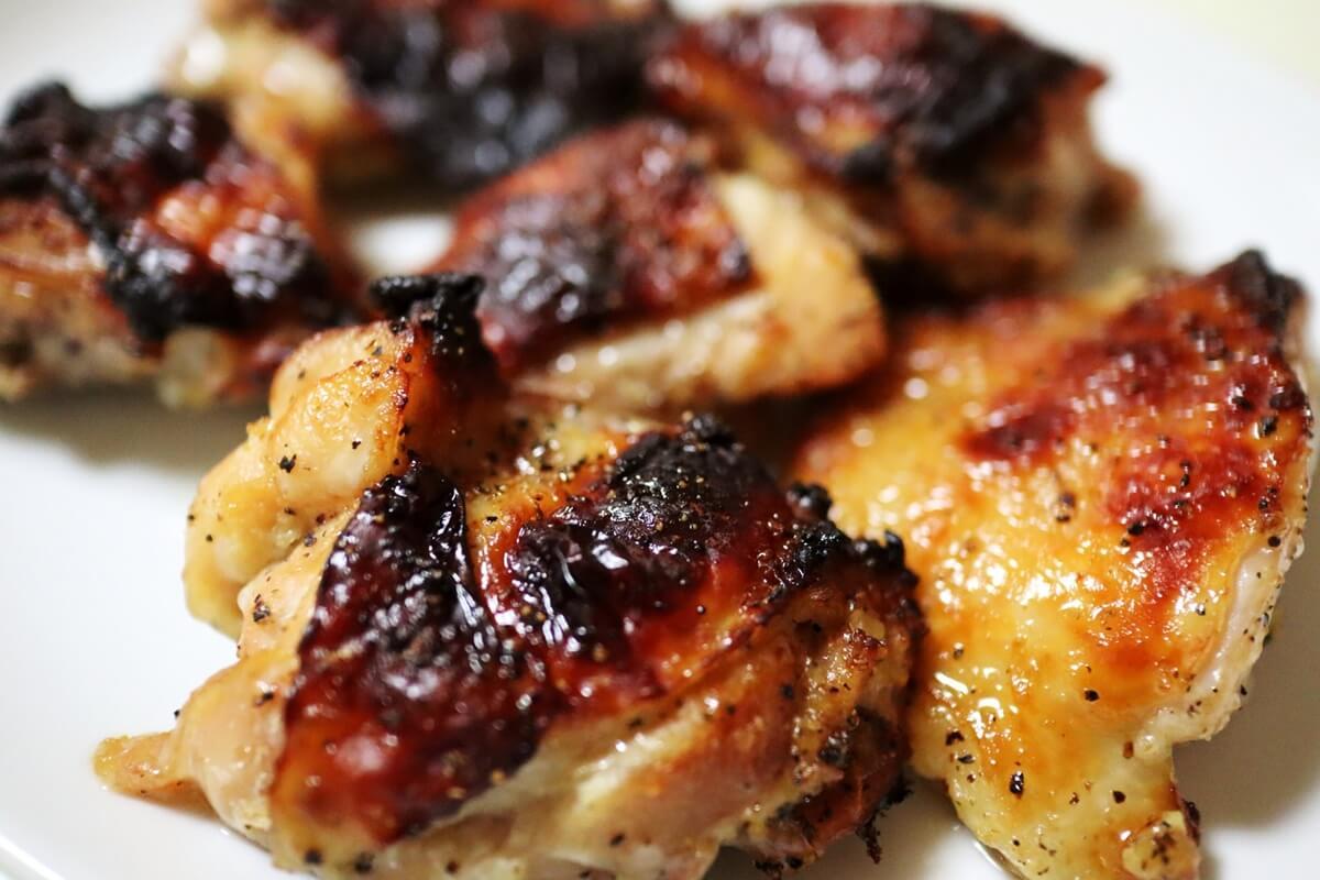 チキンのクラッカー焼き