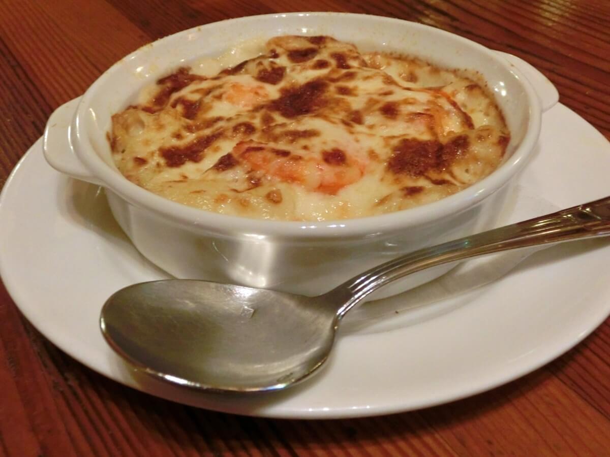 もちの豆乳グラタンスープ