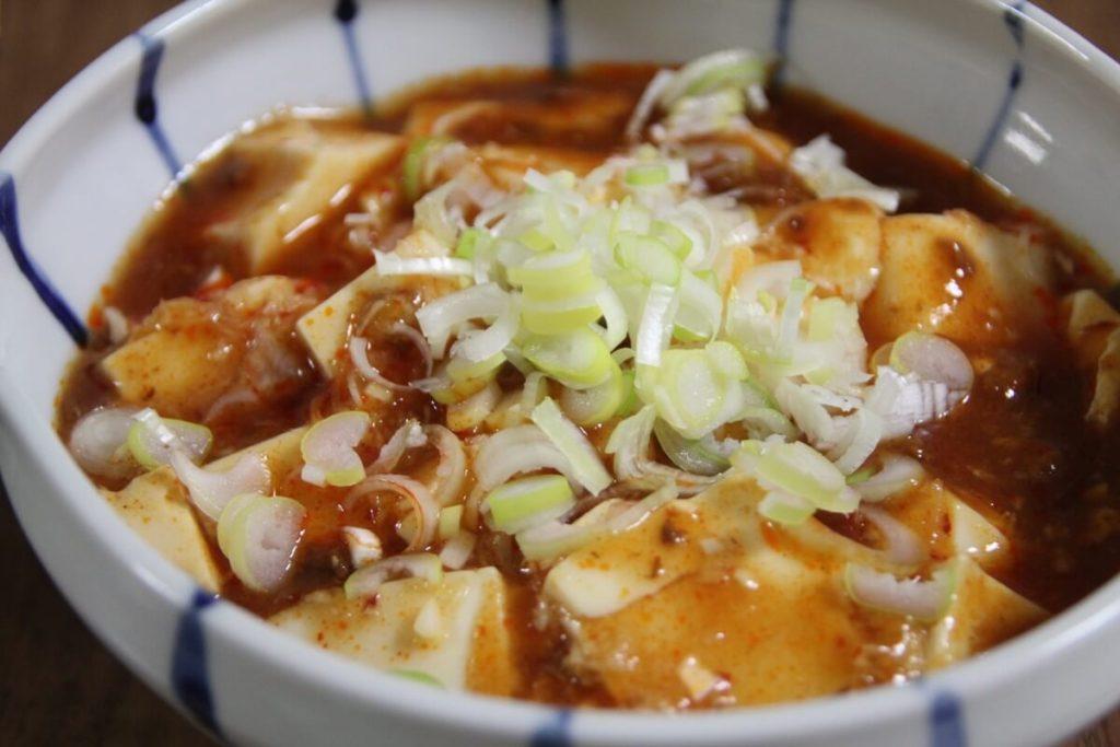 酒粕の麻婆豆腐