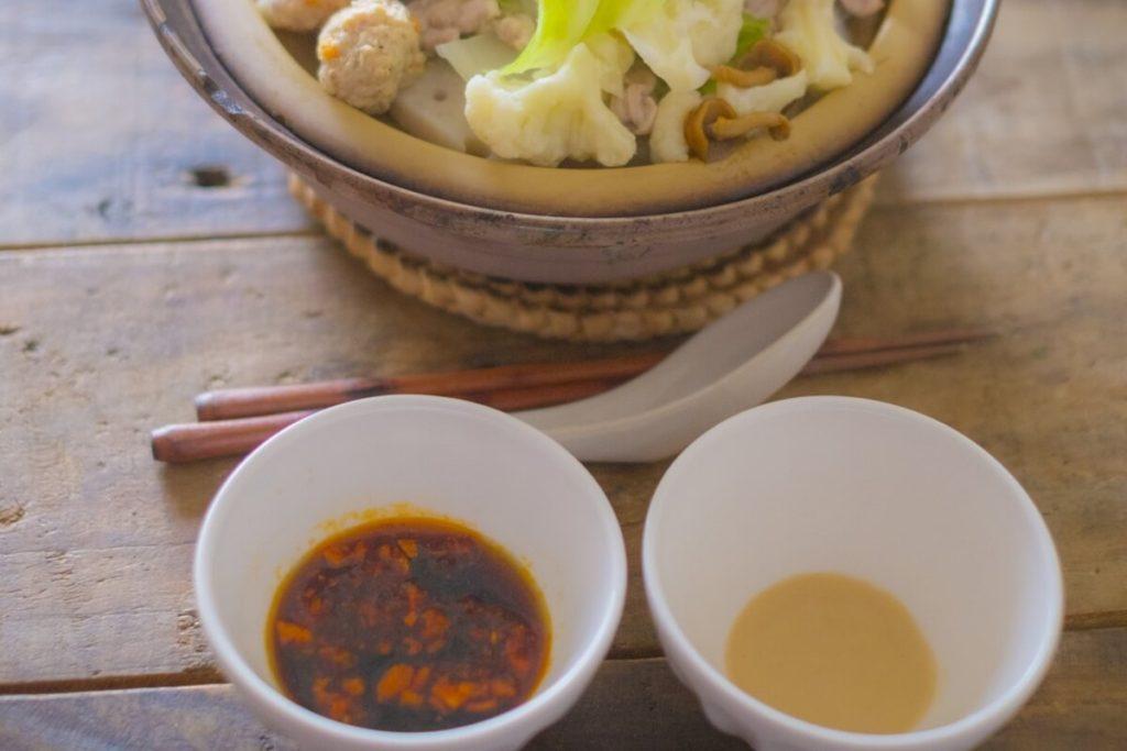鍋のタレレシピ