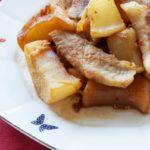 【おしゃべりクッキング】豚バラとこんにゃくの煮込みの作り方を紹介!石川智之さんのレシピ