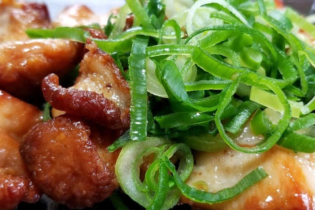 白菜と鶏胸肉の塩炒め