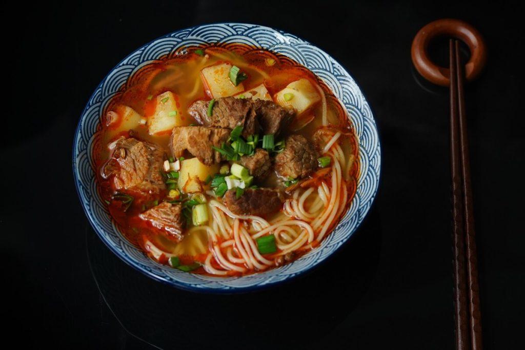 北京風あんかけ麺