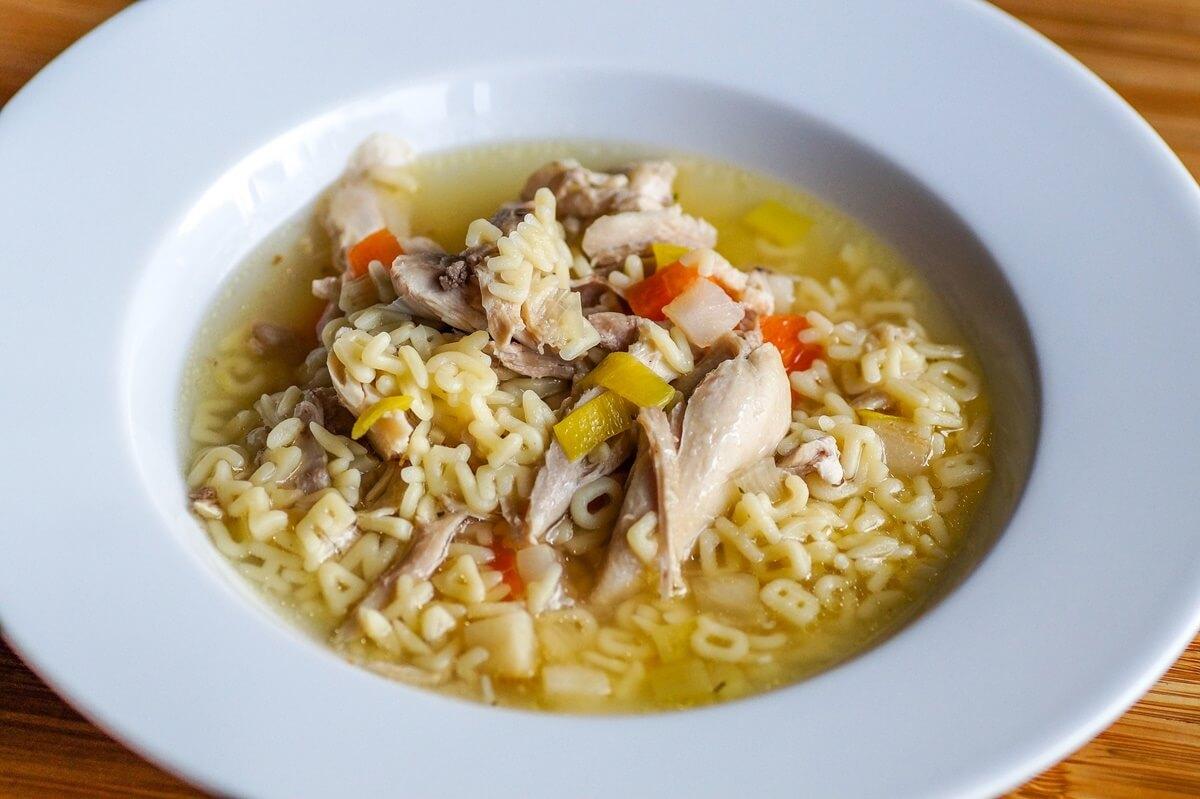 鶏スープかけごはん