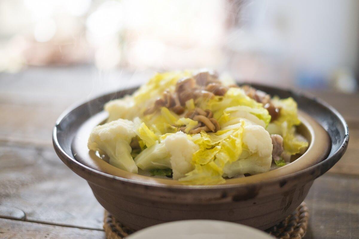 豚肉と白菜の鍋