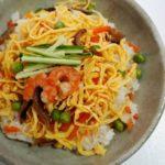 【おかずのクッキング】大原千鶴さんのレシピ!薄焼き卵でちらしずしの作り方を紹介!