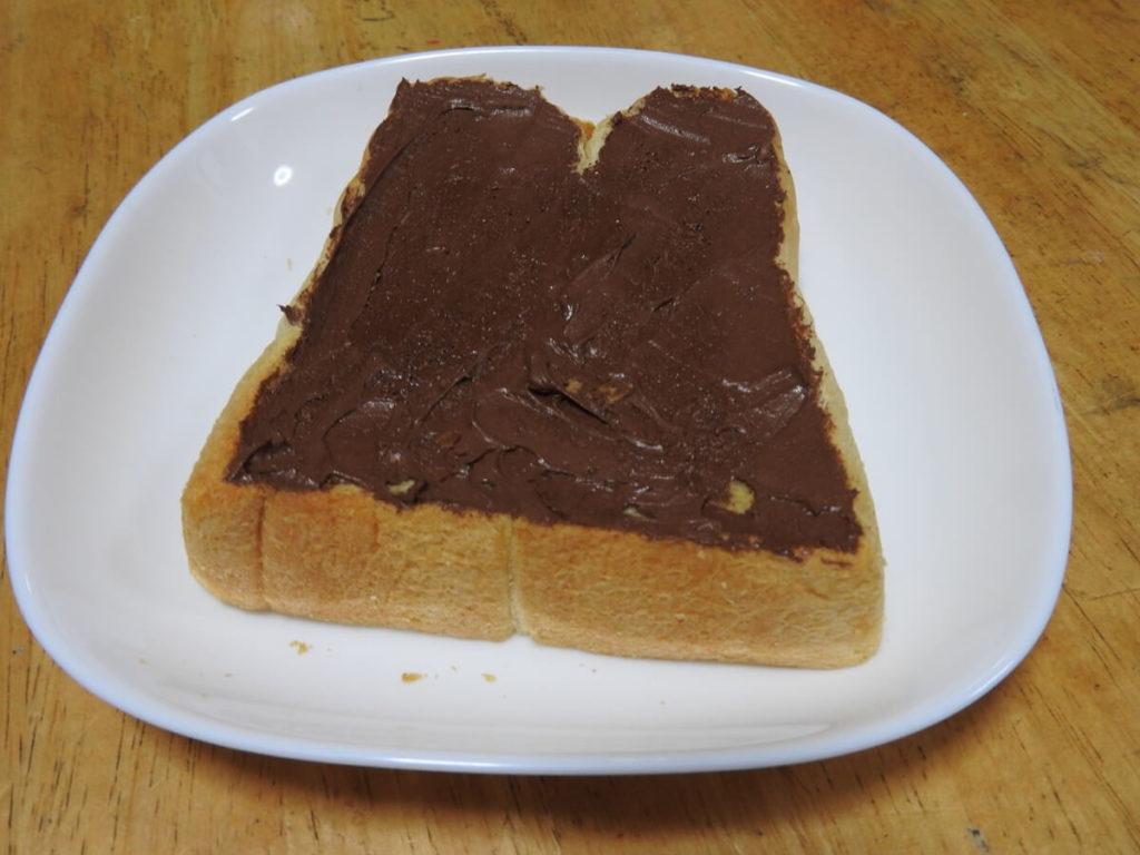 もちチョコトースト