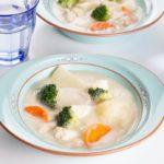 【おしゃべりクッキング】白菜と鱈のクリームスープの作り方を紹介!小池浩司さんのレシピ