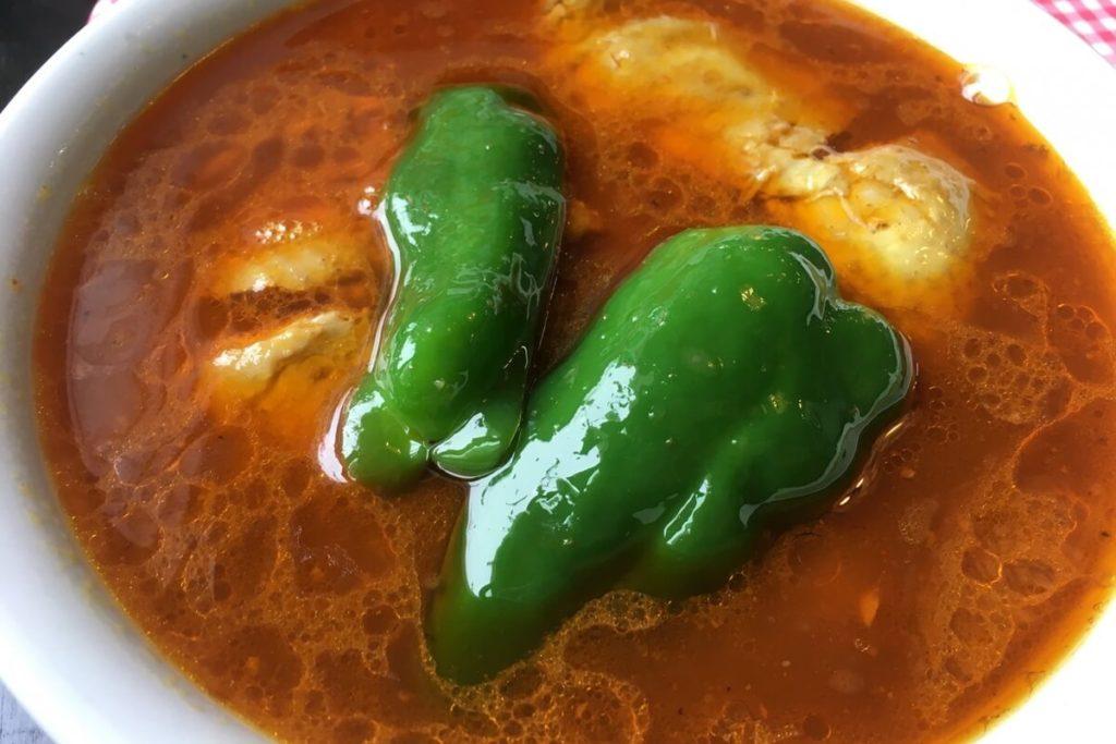 鍋にこびりついたカレーでカレースープ