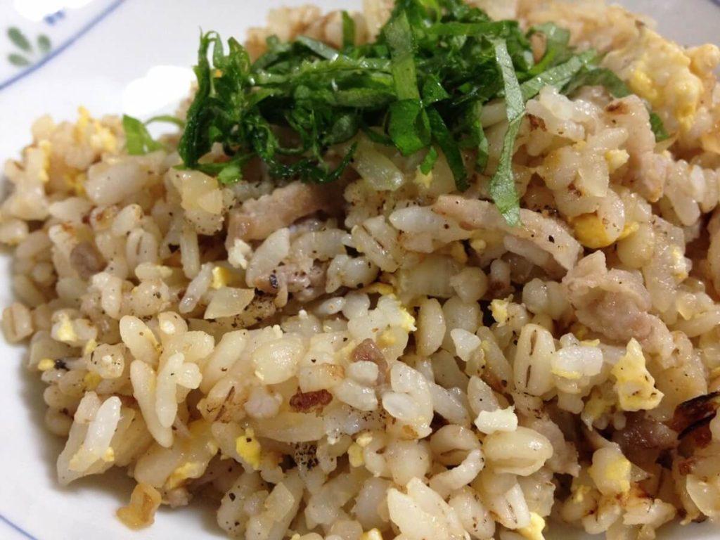 生姜の香味野菜チャーハン