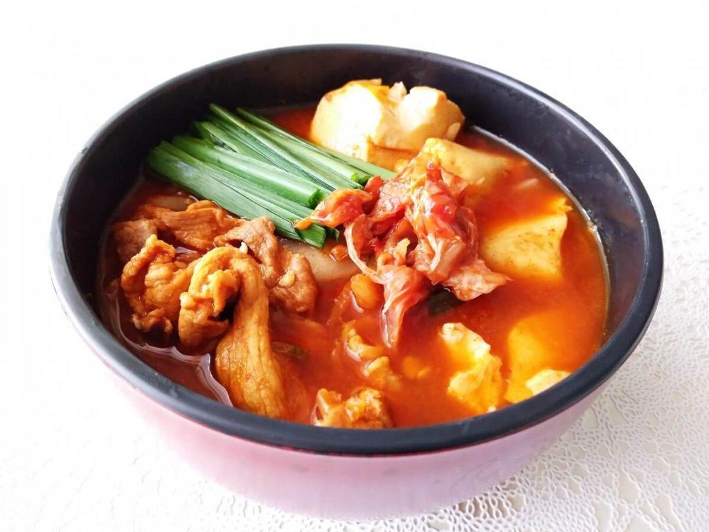 豆乳キムチスープ