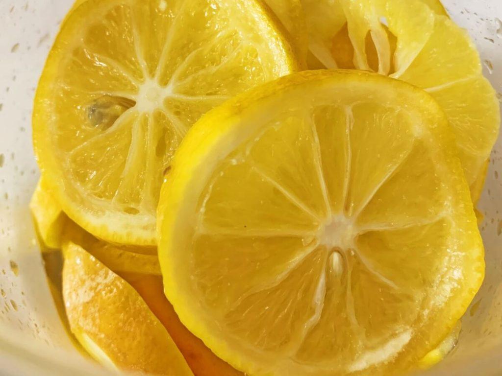 浅炊きレモン&セミドライレモン