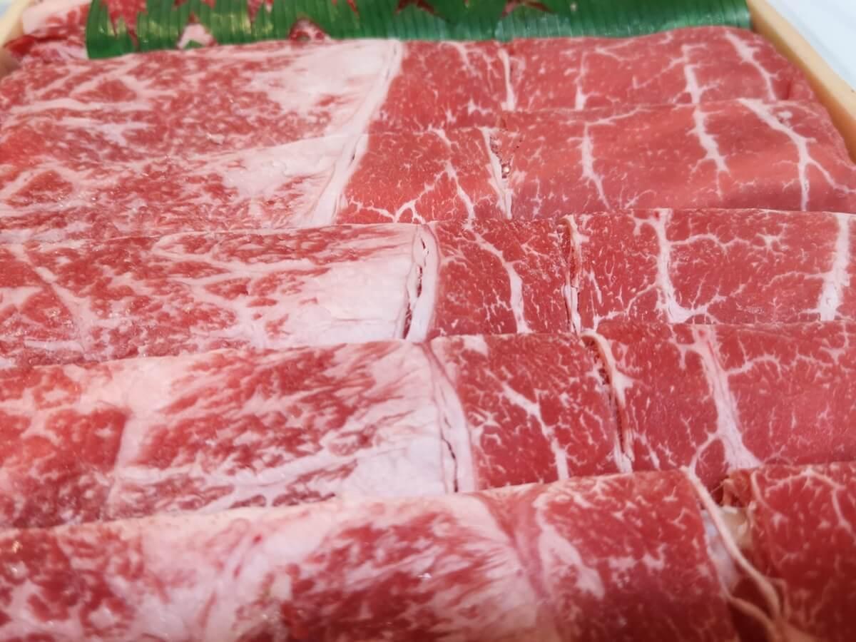 牛肉のピリ辛ごま和え