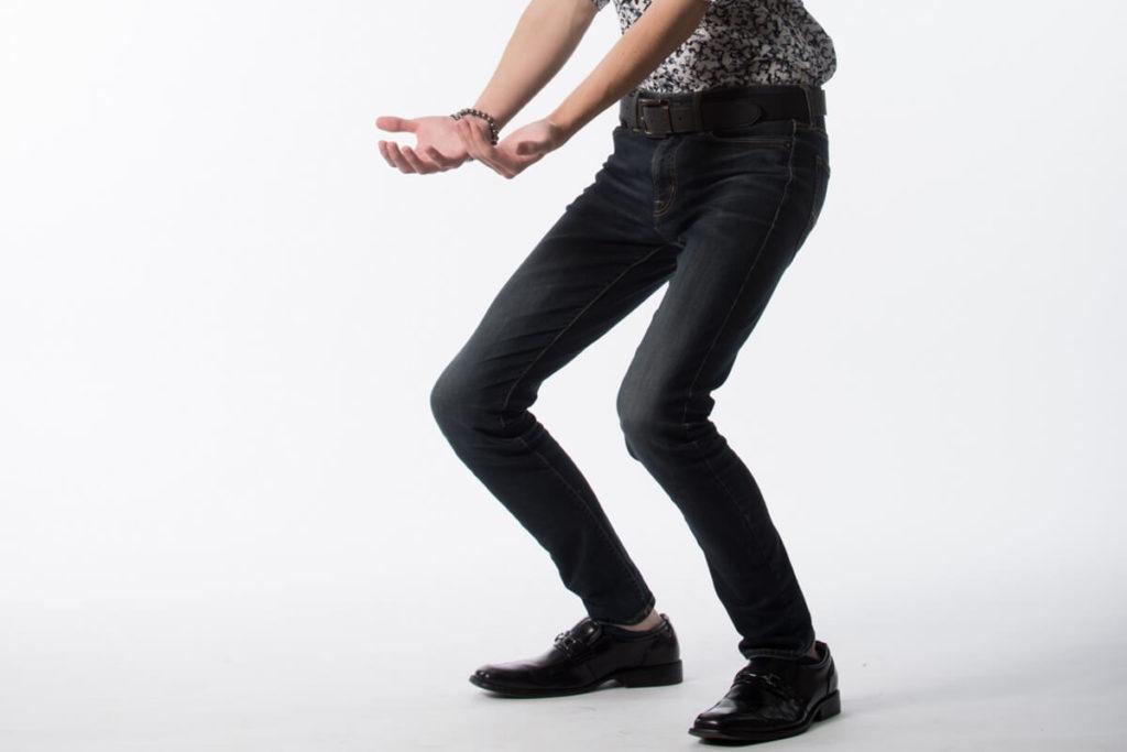 自律神経を整える体操ため息スクワット