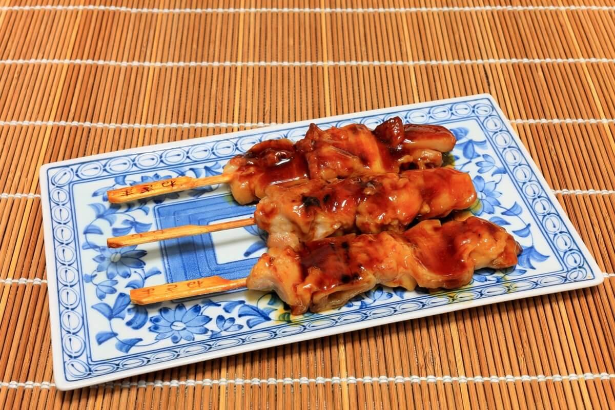 焼き鳥アボカドオーブン焼き