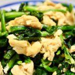 【きょうの料理】ほうれん草と卵のラクうま炒めの作り方を紹介!佐々木浩さんのレシピ