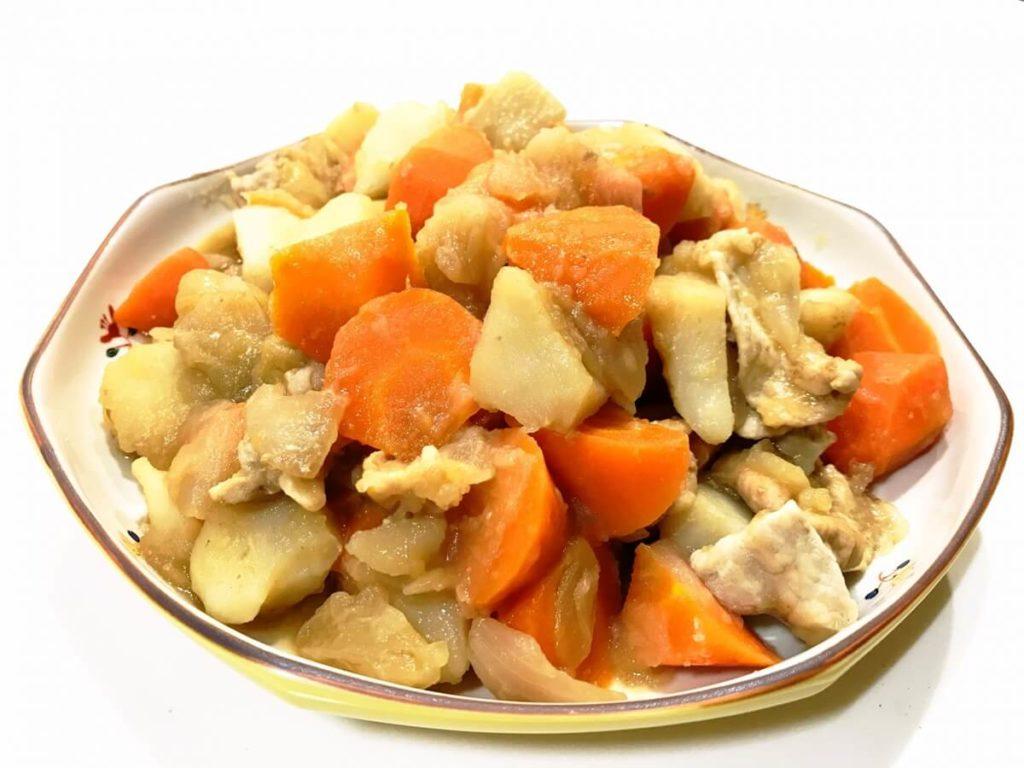 春野菜と鶏肉のバター煮