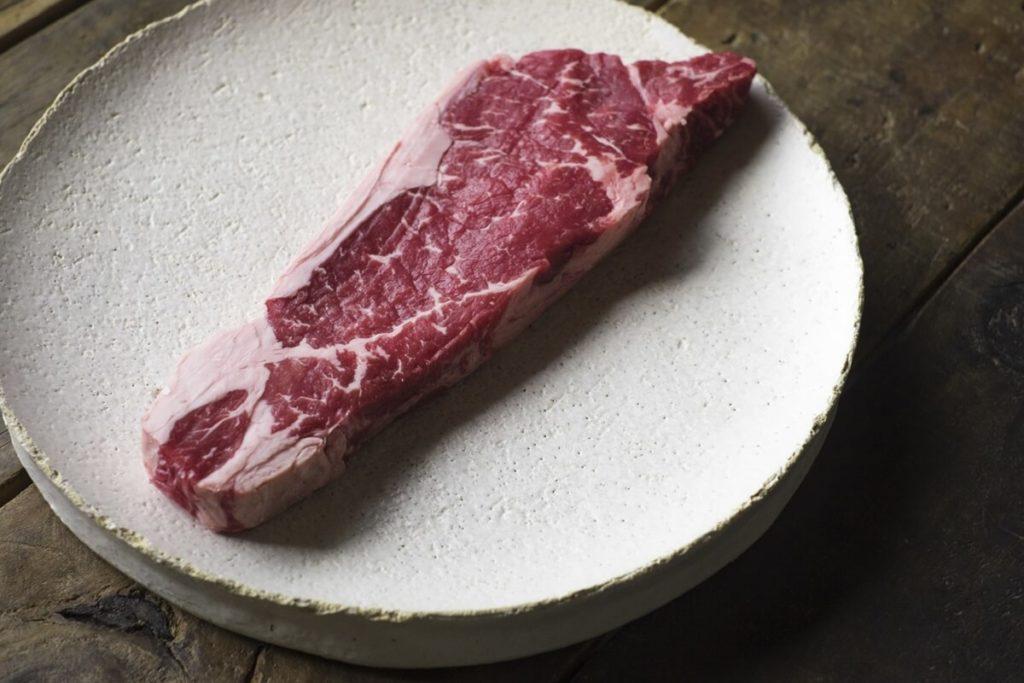 茹でステーキ