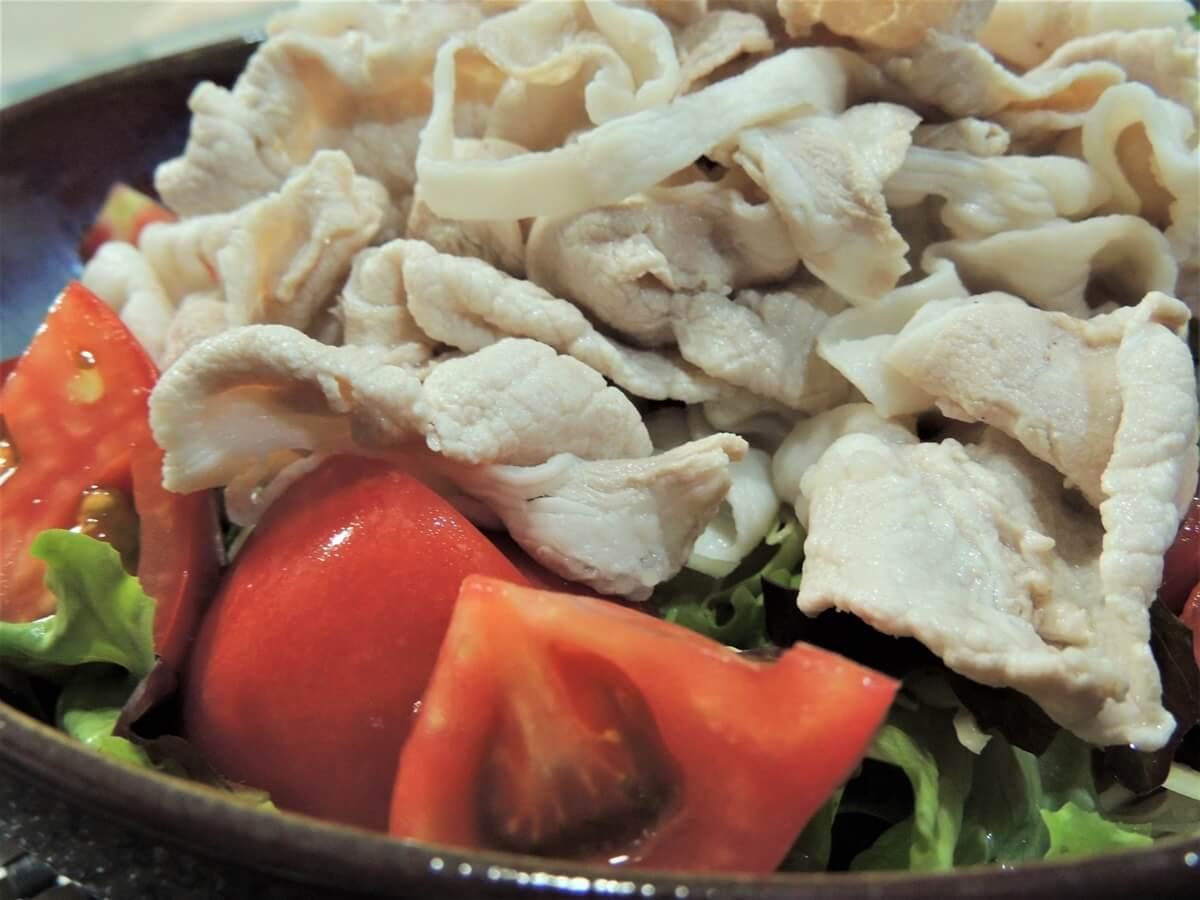 トマトポン酢の冷しゃぶ