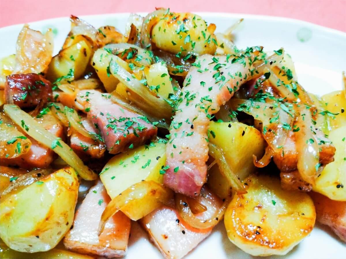【きょうの料理】コンビーフのジャーマンポテト風の作り方を紹介!小林まさみさんのレシピ
