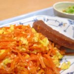 【よ~いドン】岸和田市にんじん産ごちレシピにんじんしりしりの作り方を紹介!