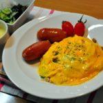 【ちちんぷいぷい】中華風ピリ辛海鮮オムライスの作り方を紹介!王憲生さんのレシピ