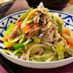 【きょうの料理ビギナーズ】春キャベツで肉野菜炒めの作り方を紹介!藤野嘉子さんのレシピ