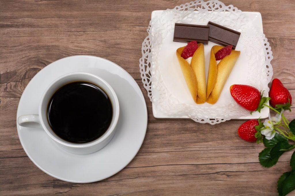 いちごのホットチョコレート
