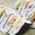 【家事ヤロウ】簡単朝食レシピ!巻かない手巻き寿司たたみ寿司の作り方を紹介!